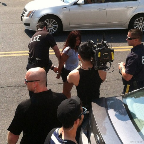 Jersey Shore's Deena Cortese arrested photo