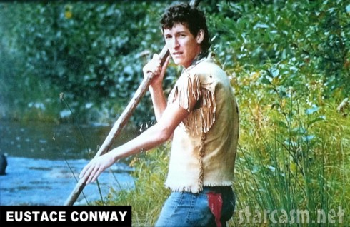 Mountain Men's Eustace Conway had short hair and no beard as a younger man