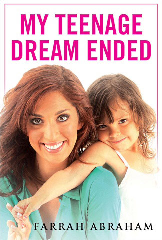 New and improved cover for Farrah Abraham's book My Teenage Dream Ended