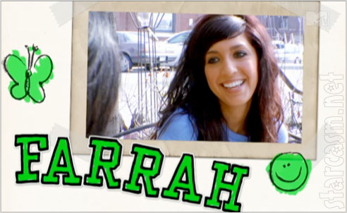 Teen Mom Farrah Abraham scrapbook photo