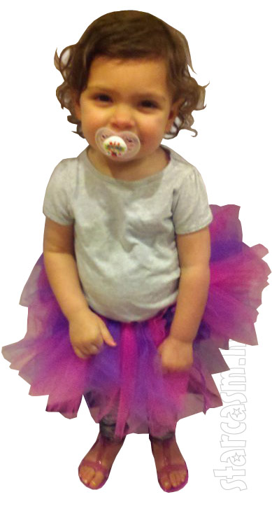 Teen Mom Farrah Abraham's daughter Sophia in a ballerina tutu
