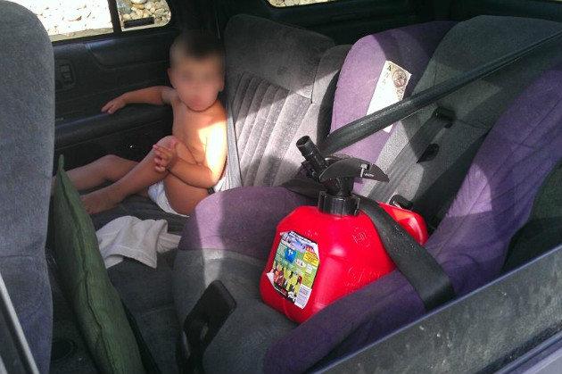 sandra ramirez explains  u0026quot gas can mom u0026quot  photo in a video