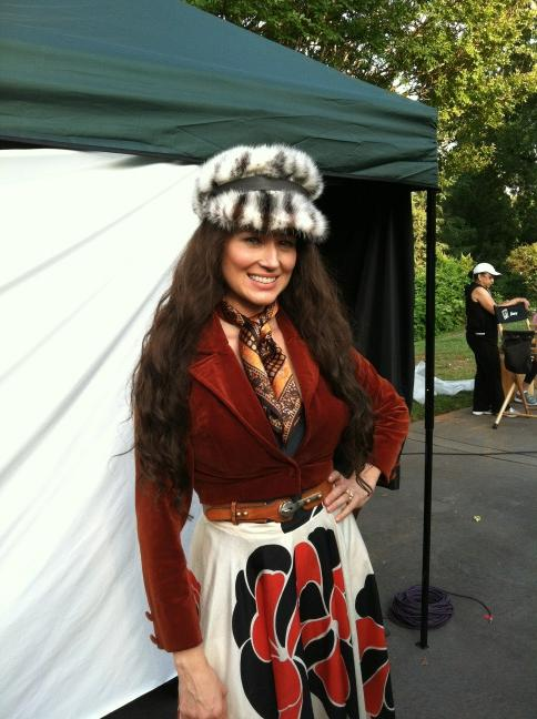 Jewel as June Carter Cash in Ring of Fire Lifetime movie