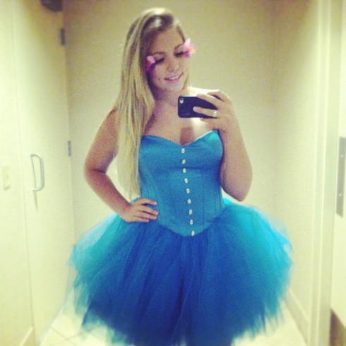 Kailyn Lowry Betsey Johnson dress Beauty is Sizeless