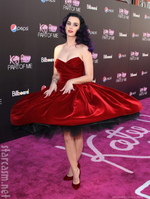 Katy Perry: Part of Me World Premiere red carpet