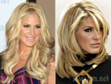 Kim Zolciak wig comparison