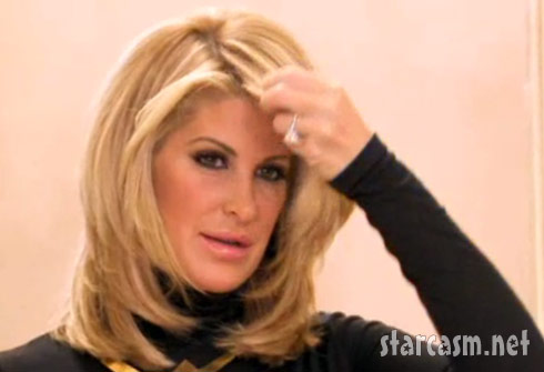 Kim Zolciak without a wig