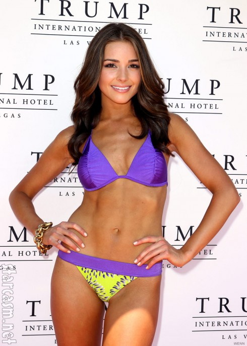 Miss Rhode Island 2012 Olivia Culpo swimwear photo