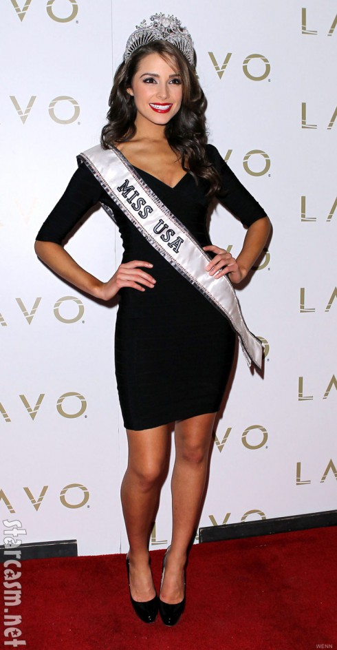 Miss USA 2012 Olivia Culpo at the official Miss USA afterparty at Lavo in Las Vegas