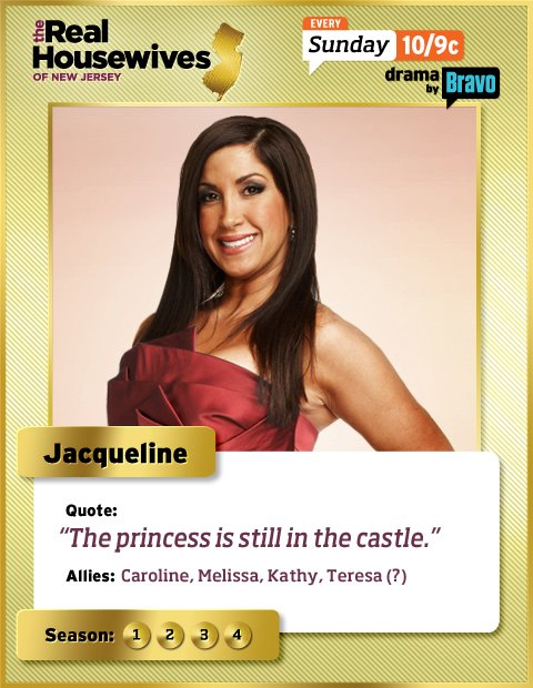 Jacqueline Laurita Real Housewives of New Jersey trading card