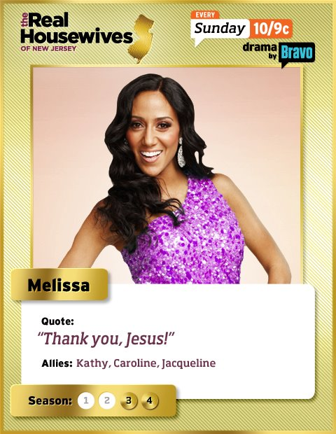 Melissa Gorga Real Housewives of New Jersey trading card