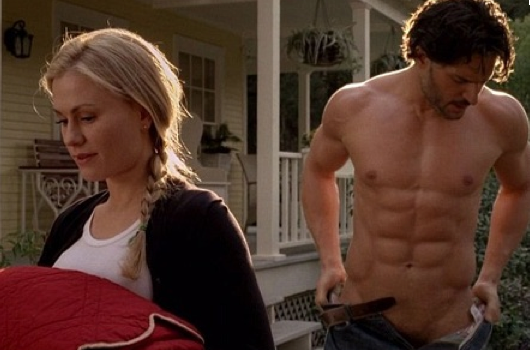 Sookie Alcide abs True blood Joe Manganiello