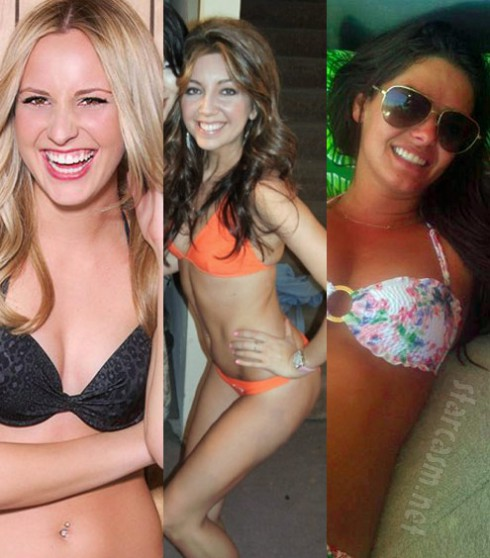 Shyla, Lucy and Kristin of Beverly Hills Nannies in bikinis