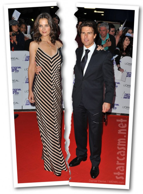 Are Tom Cruise and Katie Holmes divorcing? Yes!