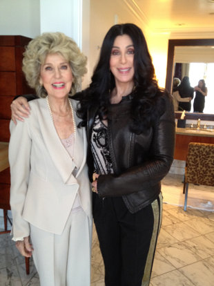 Cher's mom looks healthy 86 Georgia Holt