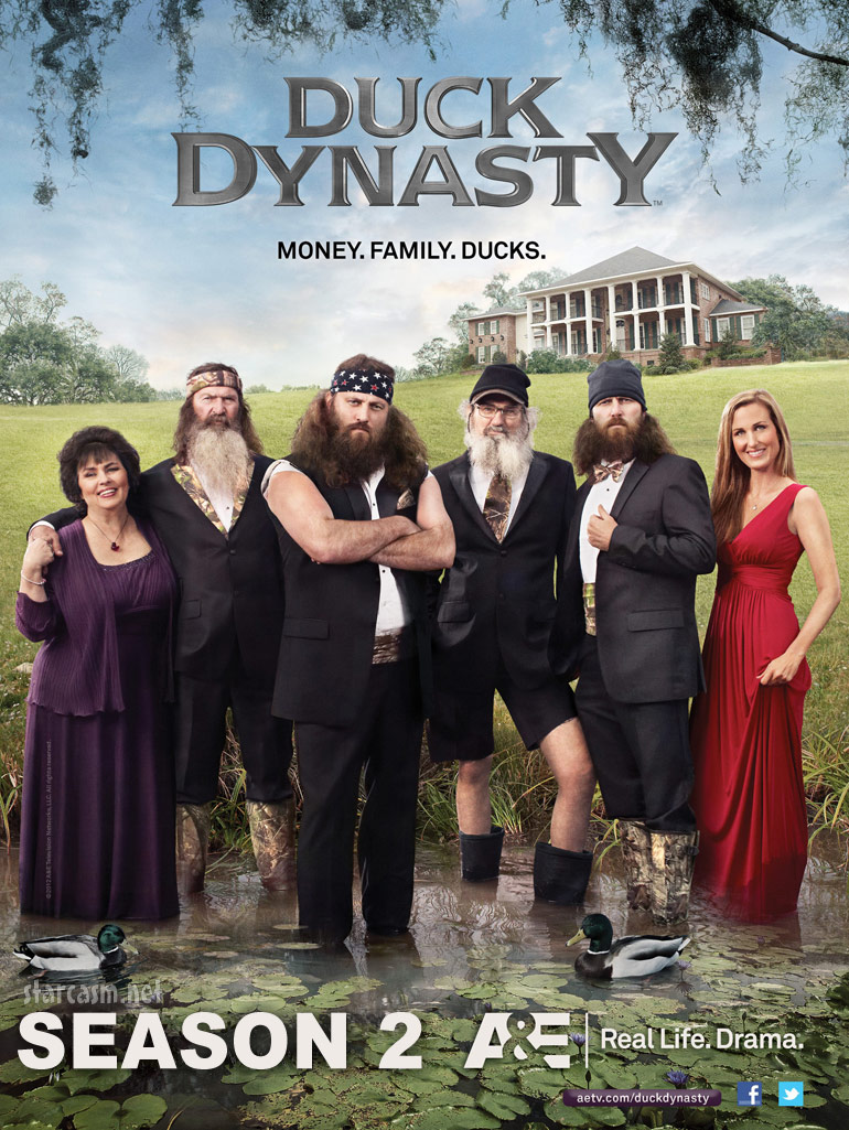 Duck Dynasty Season 2 officially announced by A&E
