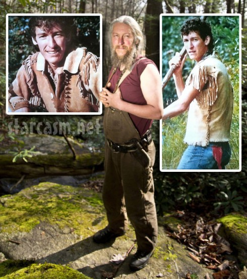 Mountain Men star Eustace Conway's photos now and when he was younger