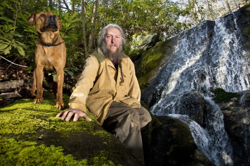 Eustace Conway from Mountain Men reality series official History Channel photo