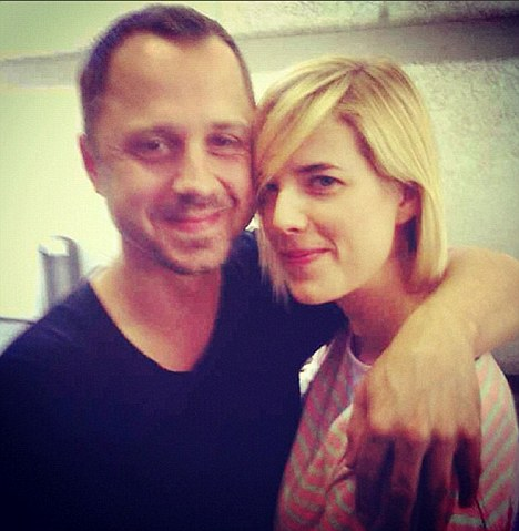 Agyness Deyn married Giovanni ribisi