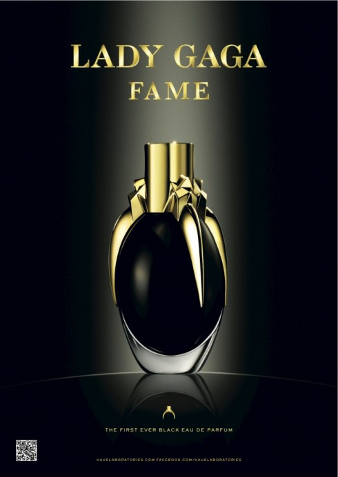 lady gaga 39 s black fame perfume was made with her own. Black Bedroom Furniture Sets. Home Design Ideas