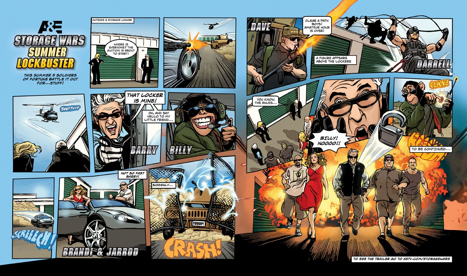 Storage Wars Summer Lockbuster comic book with Brandi Passante Barry