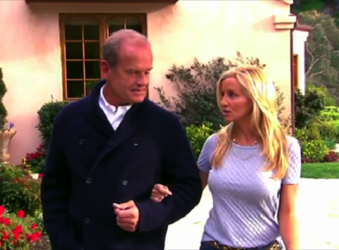 Camille and Kelsey Grammer on Real Housewives of Beverly Hills