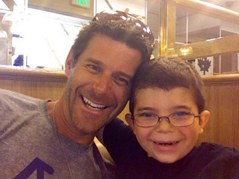 Slade Smiley and son Grayson