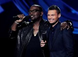 Randy Jackson and Ryan Seacrest on American Idol