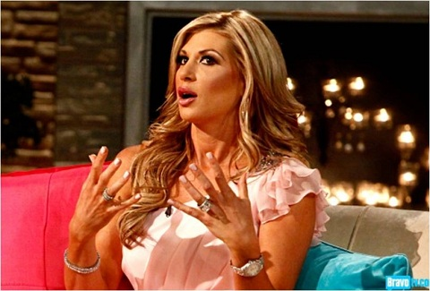 Alexis Bellino at the 'Real Housewives of Orange County' Season 7 Reunion
