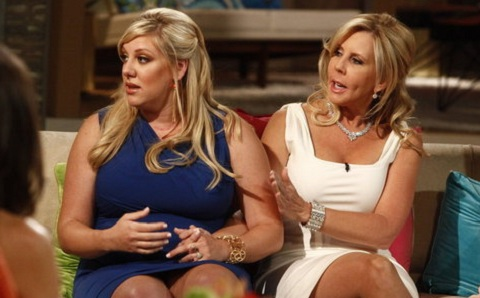 Briana  Culberson and Vicki Gunvalson at the 'Real Housewives of Orange County' reunion