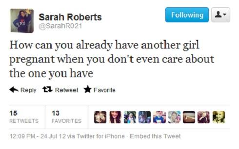 Sarah Roberts tweet