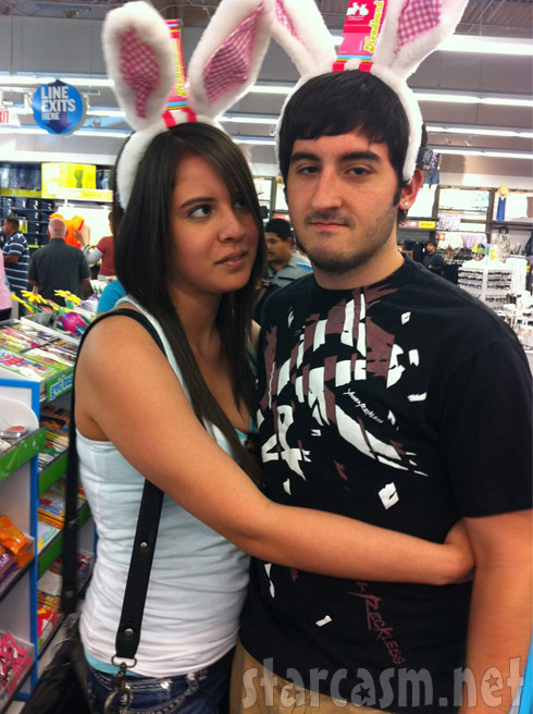 Ashley Salazar with ex boyfriend Jordan Baker