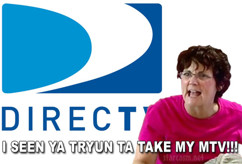 Teen Mom Jenelle Evans' mom Barbara Evans tells DirecTV I seen ya tryun ta take my MTV!!!
