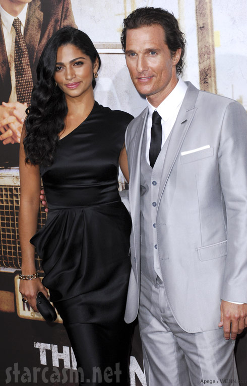 Matthew McConaughey announces wife Camila Alves is pregnant with their third child