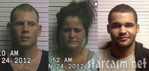 Gary Head Jenelle Evans Kieffer Delp mug shot photos