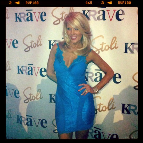 Gretchen Rossi presents her new single Unbreakable at Krave nightclub in Las Vegas