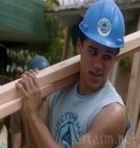 Jacob Artist from Glee in Blue Lagoon: The Awakening