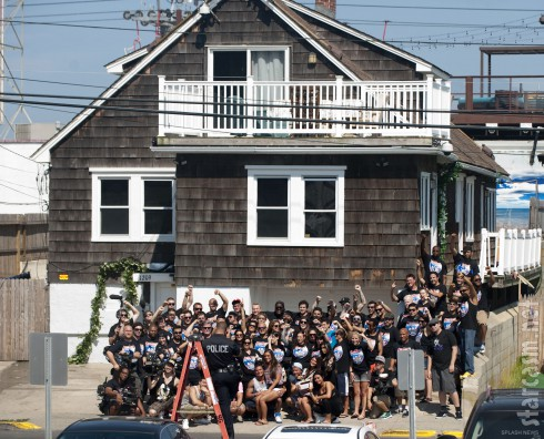 JErsey Shore beach house final day of filming Season 6 July 6 2012