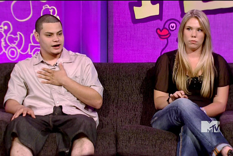 Teen Mom Kailyn Lowry and her ex Jonathan Rivera on the Reunion Special