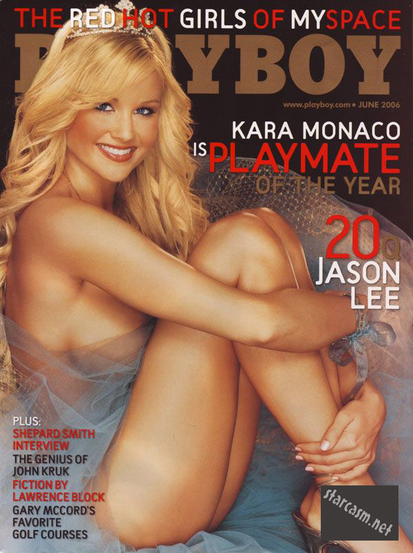 Kara of Big Brother 14 Playmate of the Year Playboy cover