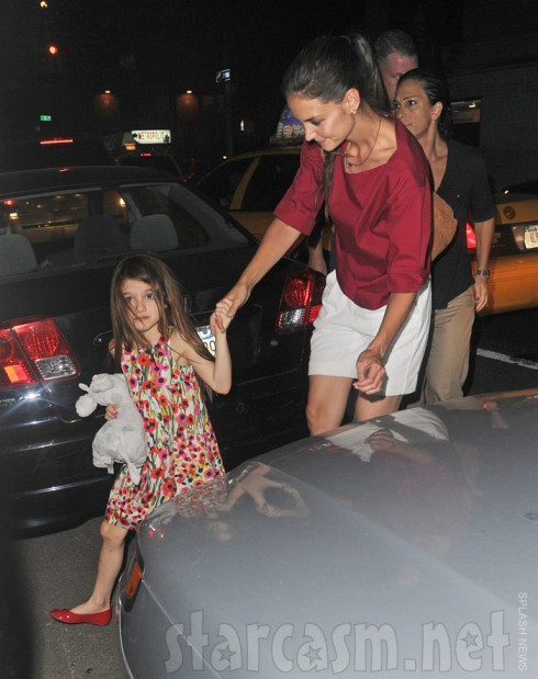 Katie Holmes and Suri Cruise together July 3 2012