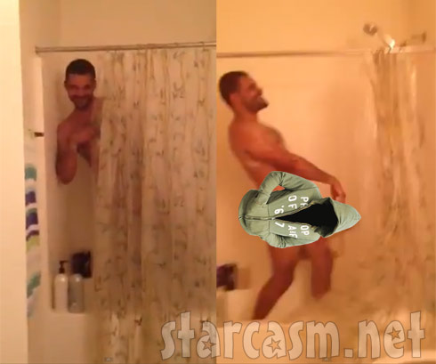 Jenelle Evans uploads video of Kieffer Delp singing naked in the shower