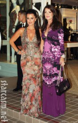 Kyle Richards Lisa Vanderpump at Kyle Richards&#039; Kyle By Alene Too store opening party