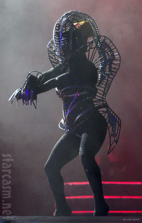 Lady Gaga Born This Way Ball Tour alien costume