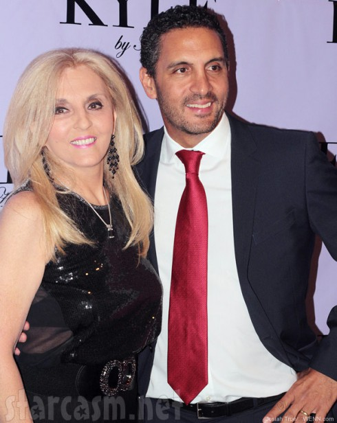 Mauricio Umansky and his mother Estella Sneider ay Kyle By Alene Too store opening
