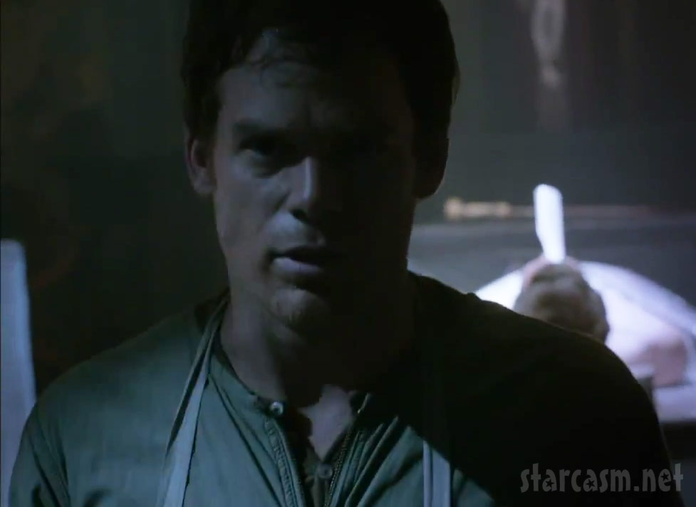 Dexter at the opening of Season 7