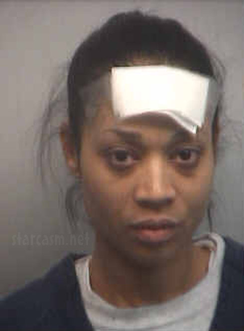 Love & Hip Hop Atlanta Mimi Faust mug shot for battery