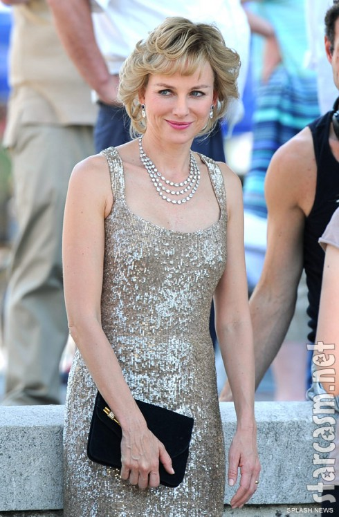 Naomi Watts as Princess Diana in Caught In Flight