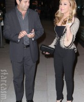 Paul Nassif and Adrienne Maloof at Kyle Richards' Kyle By Alene Too store opening party