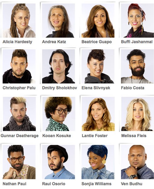 Photos of all 16 Project Runway Season 10 designers